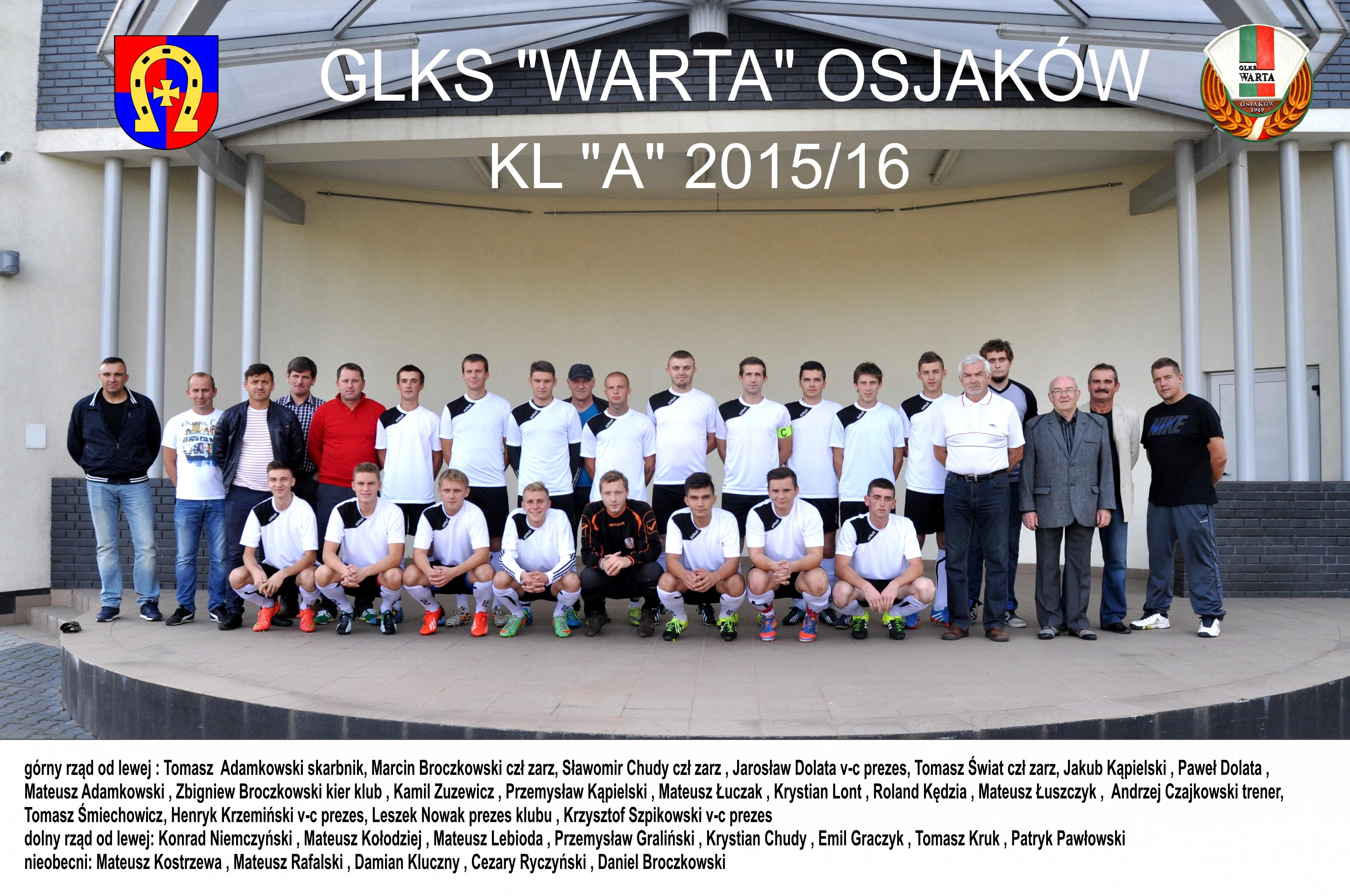 2015 12 01 glks warta osjakow - GLKS Warta Osjaków